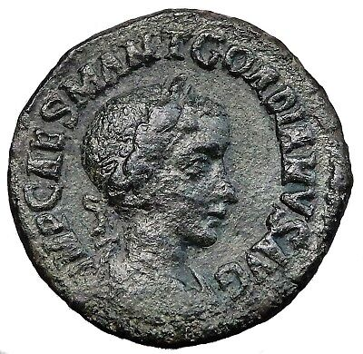 Moesia Superior, Viminacium. Gordian Iii Ae 29 With Old Collection Ticket (532E)