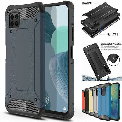 Shockproof Armor Hybrid Case Cover For Huawei P8 P9 P10 P20 Lite Mate 20 10 Pro