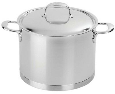 Demeyere Atlantis 8.5-qt Stainless Steel Cooking Stock Pot 7 Ply Base NEW