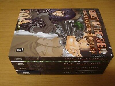 Ghost in the Shell Stand Alone Complex Nr.1-4 Manga deutsch 1 2 3 4