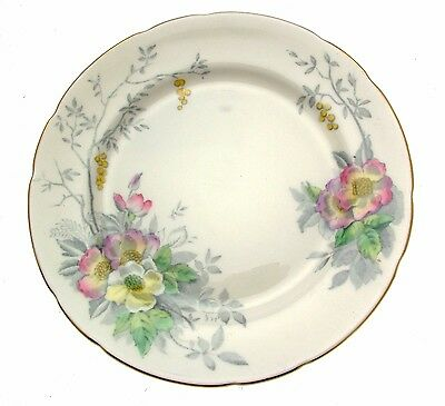 c1935 Sampson Smith Old Royal Pastel Floral 3000 6 Inch Plate