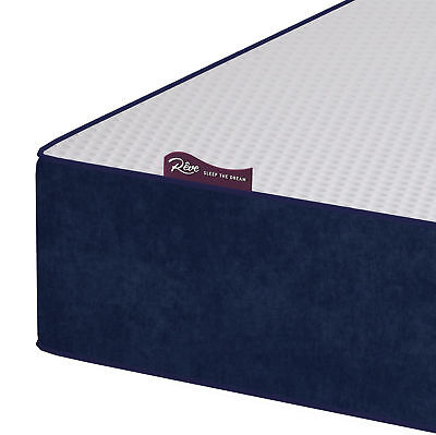 Reflex Memory Foam Mattress Single Double Kingsize SuperKing Orthopaedic Matress