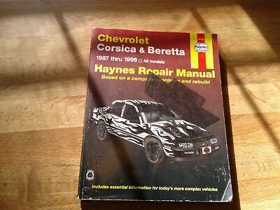 chevrolet corsica & beretta 1987-1996 haynes 24032 repair manual
