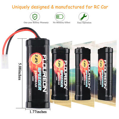 7.2V 3500mAh Rechargeable Ni-MH Battery High Capacity for RC Control Car Toys AU