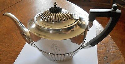 Antique Sterling Silver Teapot, 361 Grams, Hallmarked
