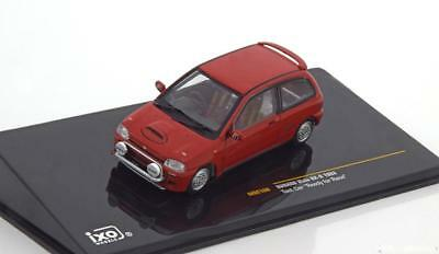 1:43 Ixo Subaru Vivio RX-R Test Car 1993 red