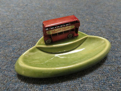 "Wade ""Players Please"" Bus Ashtray, length 15cm approx."