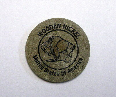 Wooden Nickel Token