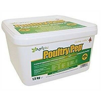 Agrivite Poultry Pep (500 Gram) - Chickens Spice Vitamin Powder 500g Duck Tonic