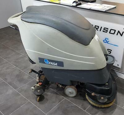 Ex-Hire Edge A9 Walk Behind, Battery-Operated, Scrubber Dryer