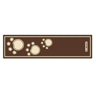 Pet Rebellion Dog Runner Brown - Paws x 45 150cm