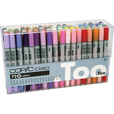 Copic Set A Ciao Marker (pack Of 72) - 72 Mang Too Colors Japan Pen B