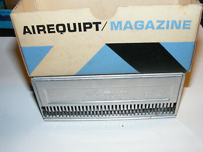 """Vintage Metal Photo 35MM Airequipt Slide Magazine Tray ONE - Holds 36 2"""" slides"""