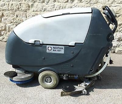 Refurbished Nilfisk BA651C Scrubber Dryer with 660m cleaning width