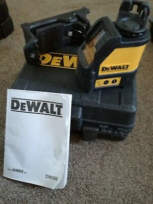 dewalt laser level DW088 red laser good working condition