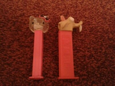 Hello Kitty and Scrat from Ice Age Pez