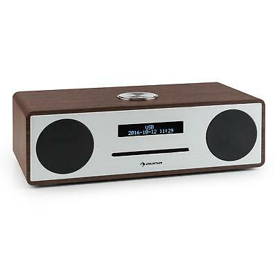 [OCCASION] auna Stanford Radio réveil lecteur CD DAB DAB+ Bluetooth USB MP3 AUX