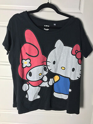 Uniqlo Sanrio Hello Kitty My Melody Women's T-shirt Tee Size Medium New