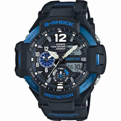 Casio G-Shock Black Dial Resin Quartz Men's Watch GA1100-2B