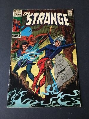 Dr. Strange 176 Silver Age Comic Off White Pages