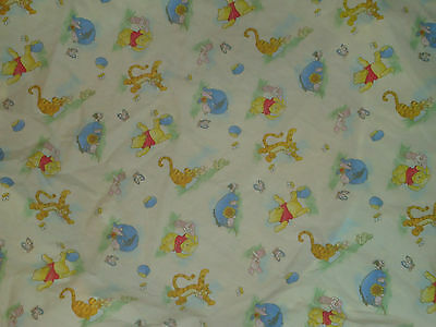 Disney Winnie The Pooh Fitted Crib Baby Bed Sheet Bedding Nursery