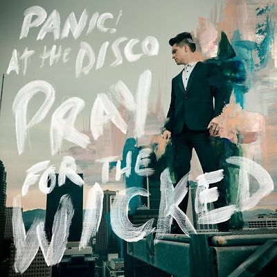 PANIC! AT THE DISCO PRAY FOR THE WICKED CD (Released June 22nd 2018)
