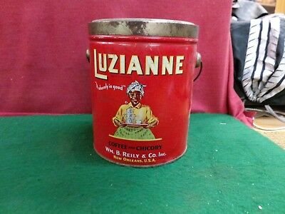 Vintage Luzianne Coffee Can  ca 1928