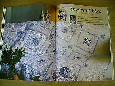 Jenny Haskins~Creative Embroidery By Machine~FIRST ISSUE~Quilts~Garland~Gown...