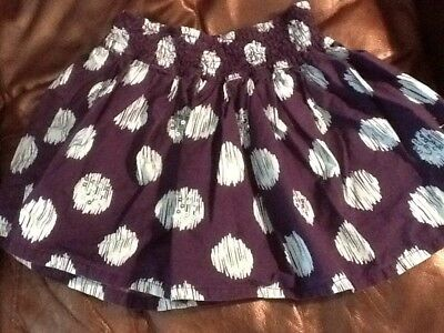 Adorable Justice Skirt / Sz.10 / Navy/blue w/sequins.