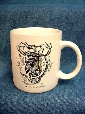 John Deere Service Mug - Go With The Green - Old Deer In D Logo On Reverse