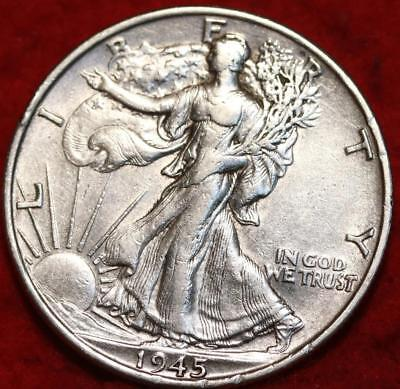 1945-S San Francisco Mint Silver Walking Liberty Half