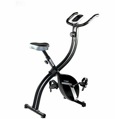 Roger Black Gold Magnetic Resistance Folding Upright Exercise Bike