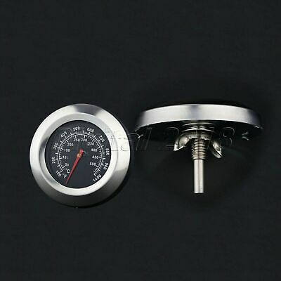 Steel Kitchen Barbecue BBQ Smoker Grill Thermometer Temperature Gauge 100-1000℉