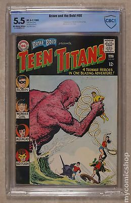 Brave and the Bold (1st Series DC) #60 1965 CBCS 5.5