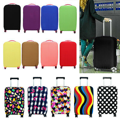 18''-29 Travel Elastic Luggage Suitcase Cover Protective Bag Dustproof Protector