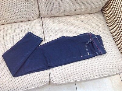 Girl's Ted Baker skinny Jeans, Size 13yrs, Dark Blue, Excellent Condition