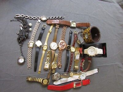 22 Ladies Job Lot Watches Untested  ##ath 57 Jt