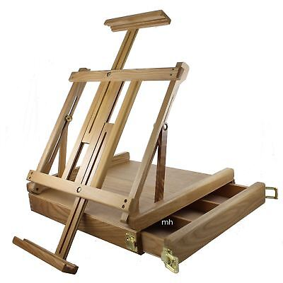Artists Loxley Wentworth Table Top Easel Painting Drawing Easel with Drawer