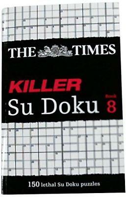 Times Killer Su Doku Book 8 by Times Uk | Paperback Book | 9780007440672 | NEW