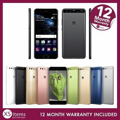 Huawei P10 VTR-L09 32GB/64GB Android Mobile Smartphone Black/Gold Unlocked/EE