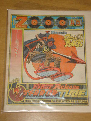 2000Ad #167 British Weekly Comic Judge Dredd Jul 1980 *