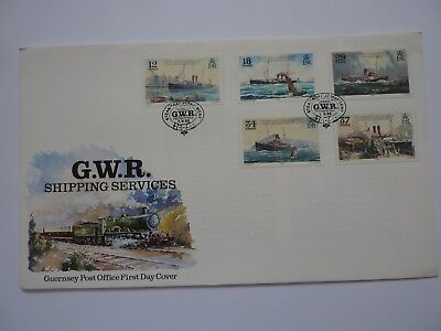 Guernsey GWR Shipping Services 1989 FDC