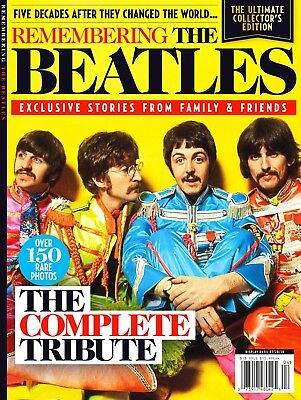 Remembering The Beatles Collector's Edition Magazine - The Complete Tribute..new