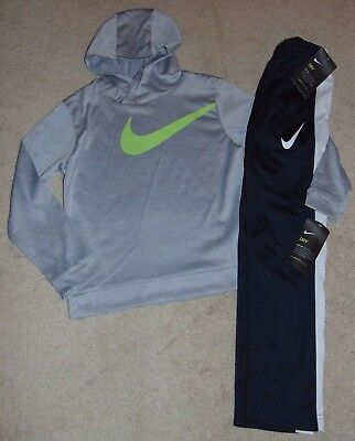 ~NWT Boys NIKE Dri-Fit Hoodie Outfit! Size 7 Nice FS:)~