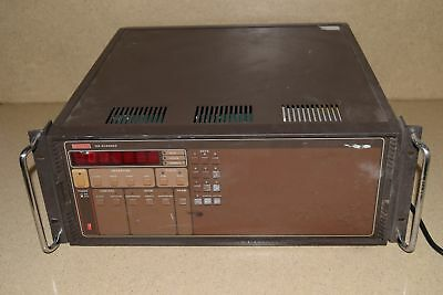 KEITHLEY MODEL # 706 SCANNER w/ 2 CARDS/MODULES