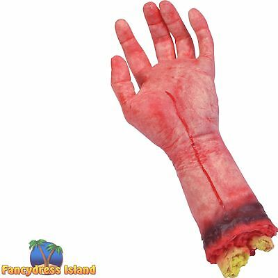 HALLOWEEN HORROR CUT OFF BLOODY HAND Party Decoration Props & Novelties