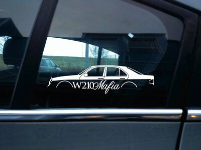 W210 Mafia sticker - for Mercedes w210 E-klasse e320 e430 e55 saloon
