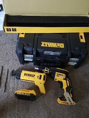 Dewalt DCF620N / DCF6201 XR 18v Collated Drywall Screwdriver Screwgun li-ion
