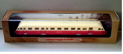 Train Model L'AUTORAIL LORRAINE 2130 LWB 1935 - Atlas  1/87 [027]