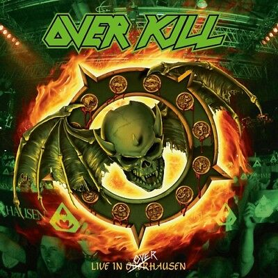 Overkill - Live In Overhausen [New CD] With Blu-Ray